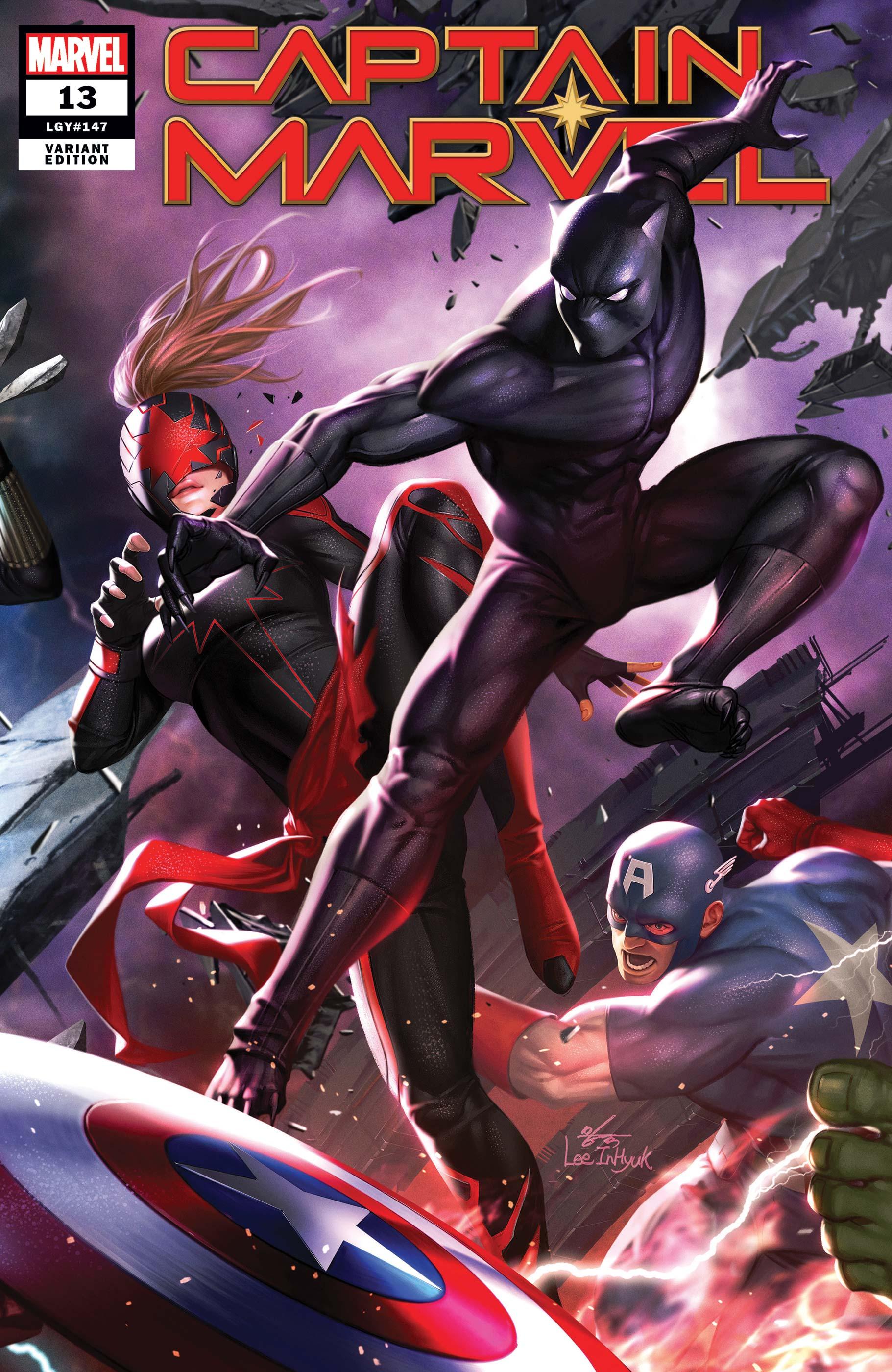 Captain Marvel (2019) #13 (Variant)