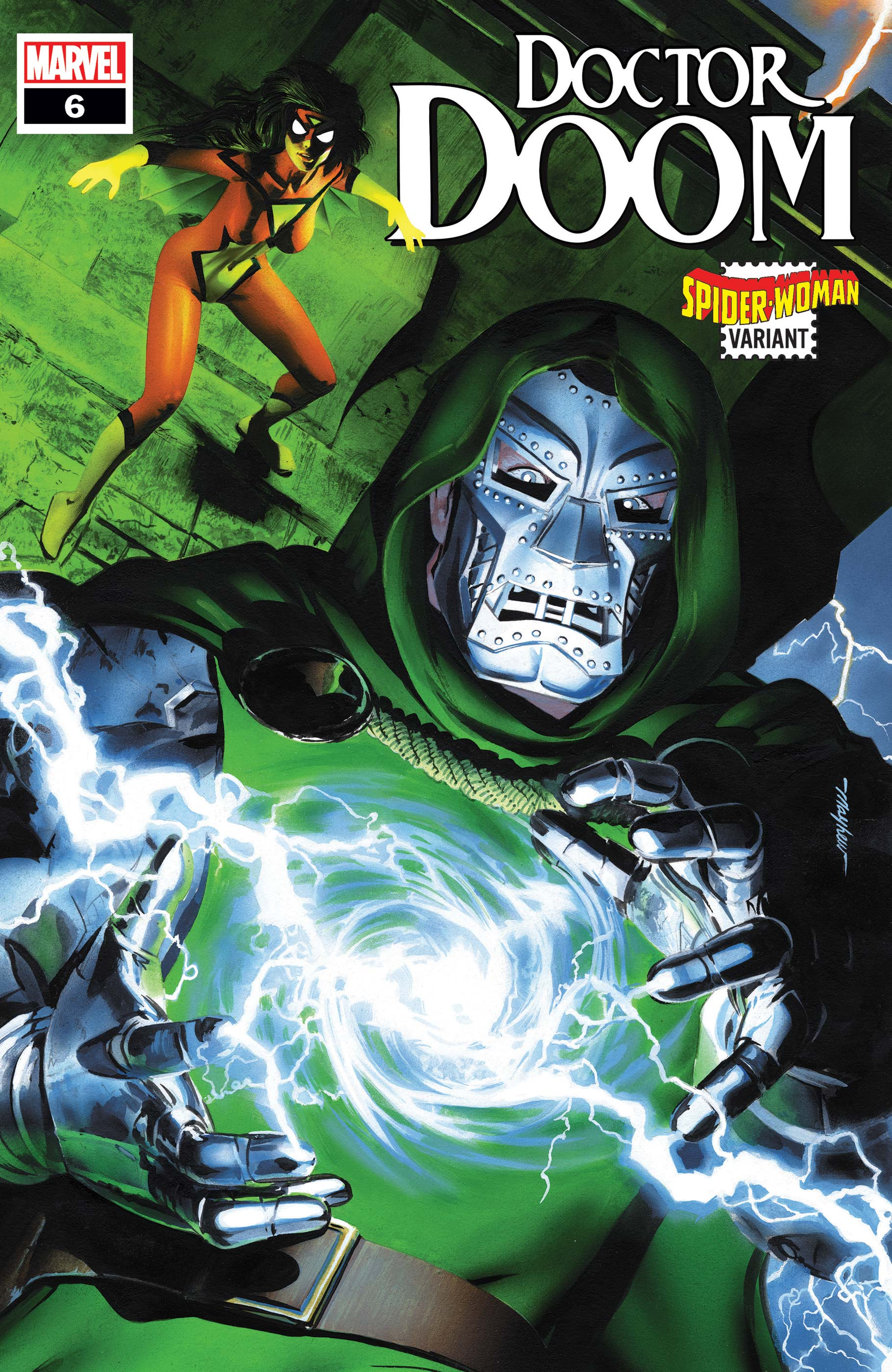 Doctor Doom (2019) #6 (Variant)
