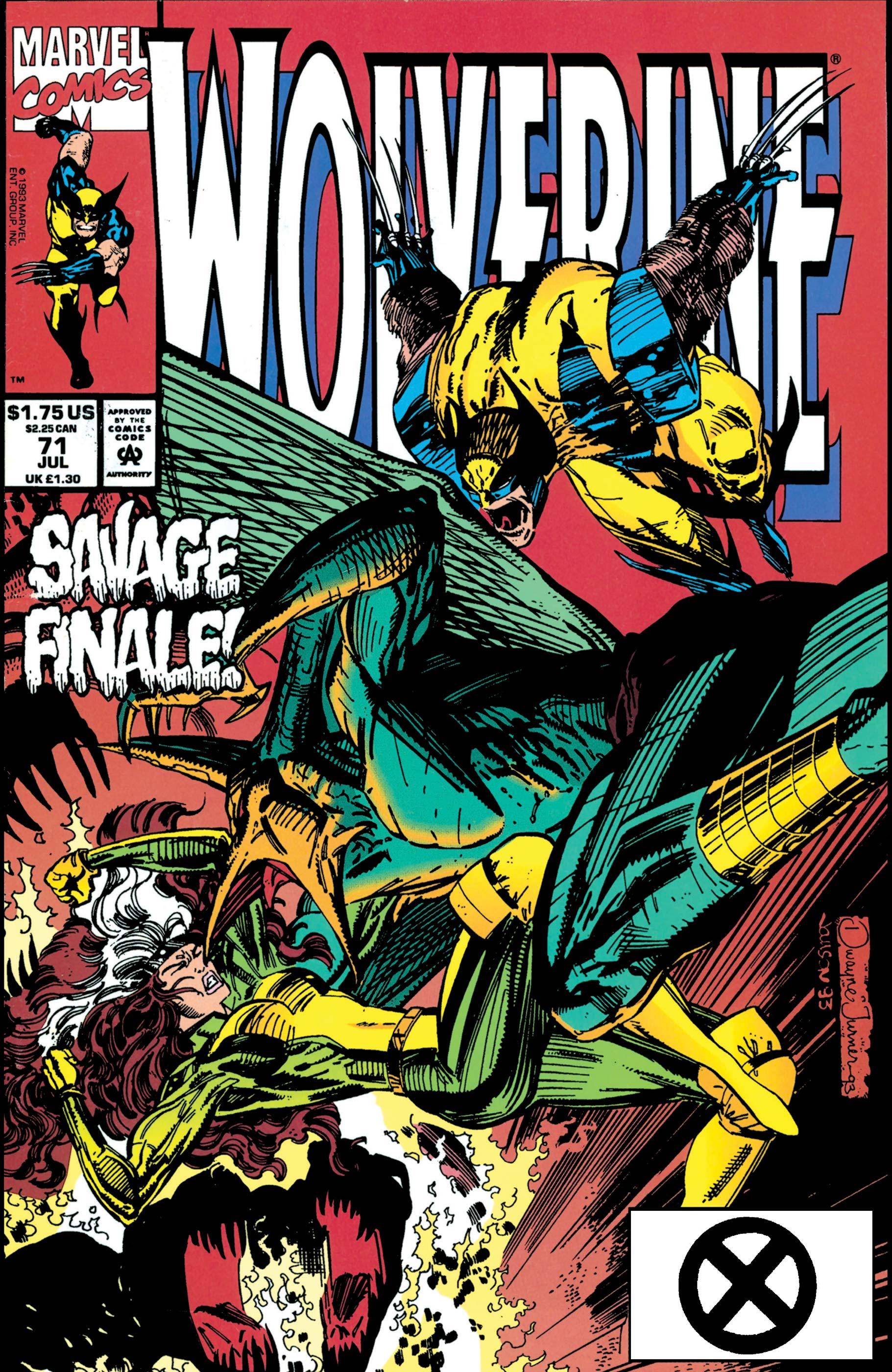 Wolverine (1988) #71