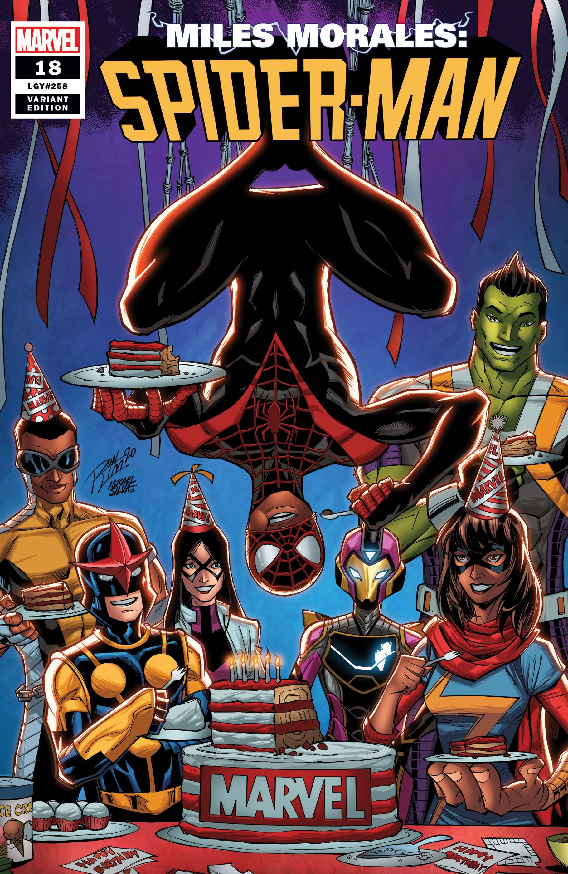 Miles Morales: Spider-Man (2018) #18 (Variant)
