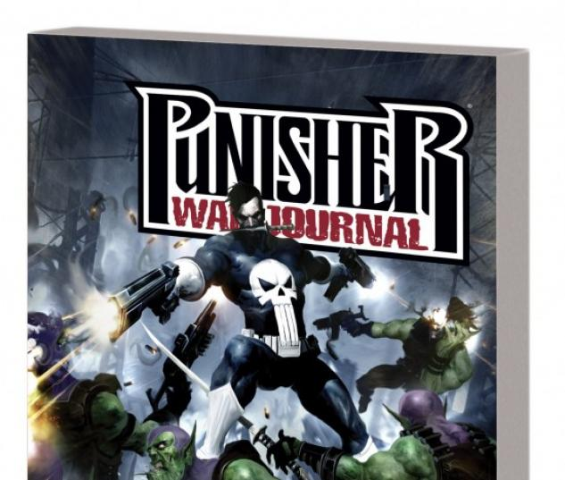 PUNISHER WAR JOURNAL VOL. 5: SECRET INVASION TPB #1 (DM ONLY)