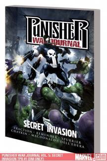 Punisher War Journal Vol. 5: Secret Invasion (Trade Paperback)