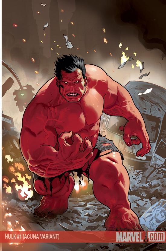 Hulk (2008) #1 (COIPEL VARIANT)