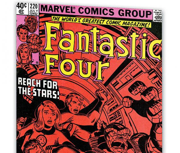 FANTASTIC FOUR VISIONARIES: JOHN BYRNE VOL. 0 #0