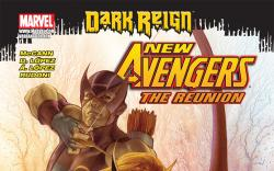 New Avengers: The Reunion (2009) #1, COVER VARIANT