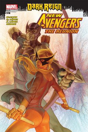 New Avengers: The Reunion (2009) #1 (COVER VARIANT)