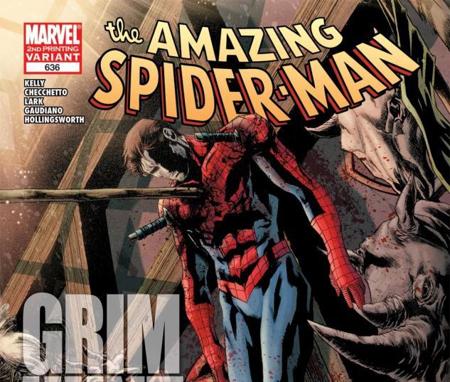 Amazing Spider-Man (1999) #636, 2nd Printing Variant