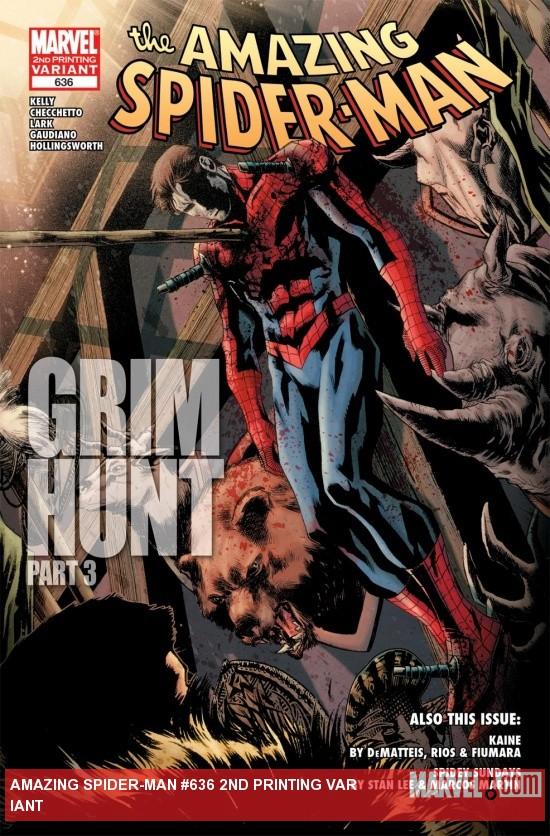 Amazing Spider-Man (1999) #636 (2ND PRINTING VARIANT)