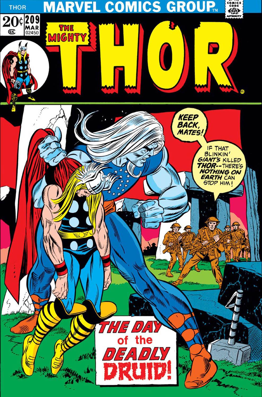 Thor (1966) #209