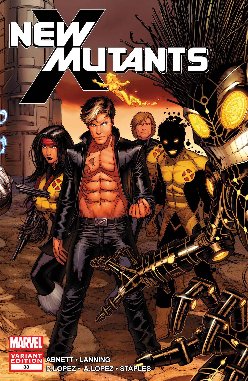 New Mutants (2009) #33 (Keown Variant)