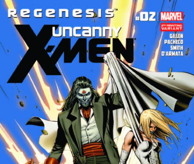 UNCANNY X-MEN 2 2ND PRINTING VARIANT