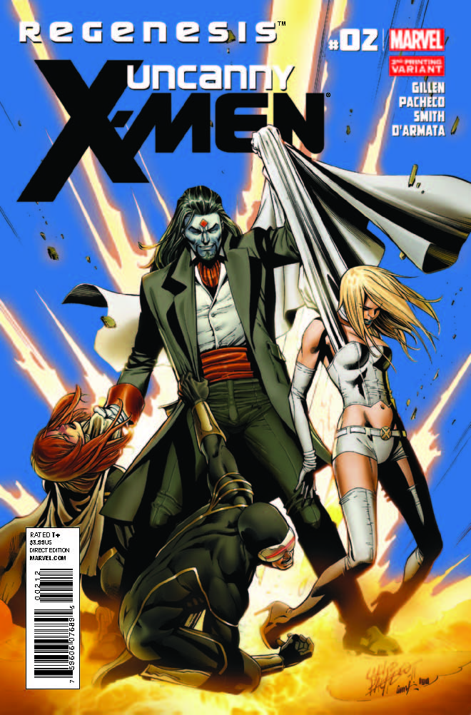 Uncanny X-Men (2011) #2 (2nd Printing Variant)