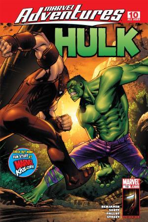 Marvel Adventures Hulk (2007) #10