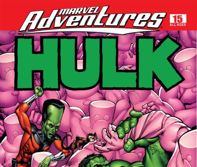 Marvel Adventures Hulk (2007) #15