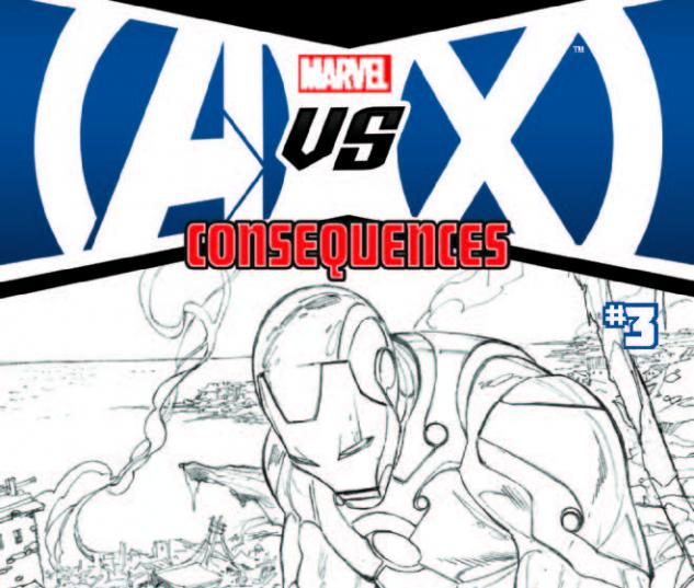 AVX: CONSEQUENCES 3 2ND PRINTING VARIANT (WITH DIGITAL CODE)