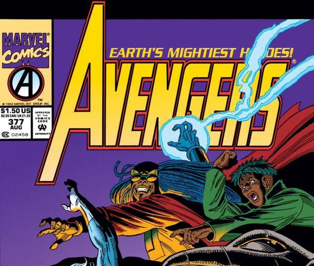 Avengers (1963) #377 Cover