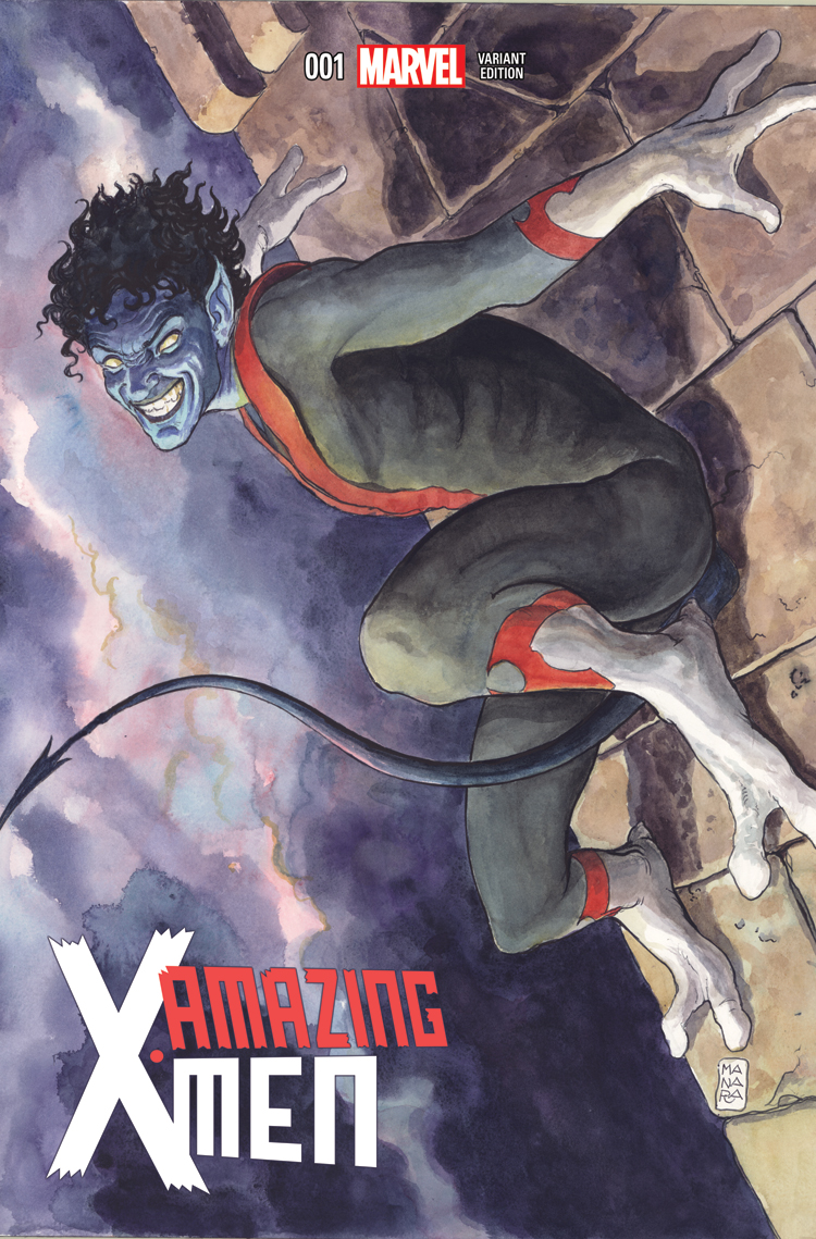 Amazing X-Men (2013) #1 (Manara Variant)