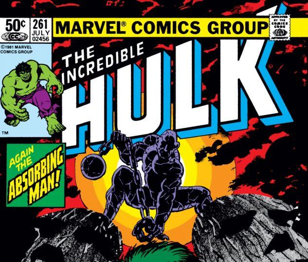 Incredible Hulk (1962) #261 Cover