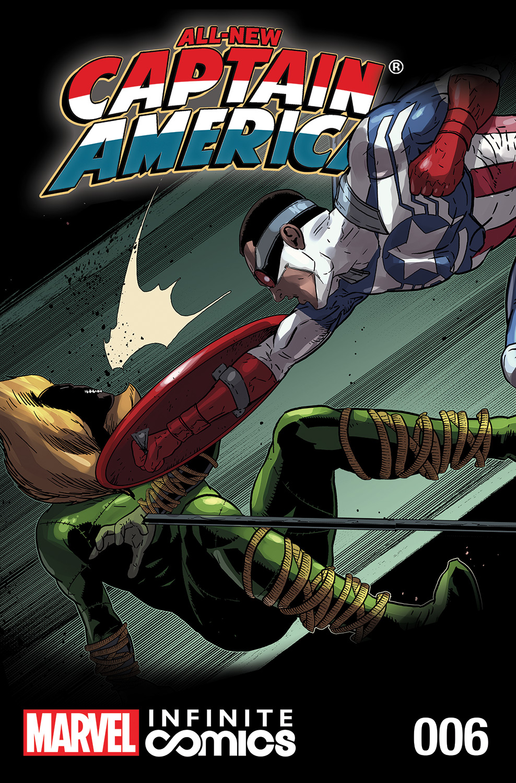 All-New Captain America: Fear Him Infinite Comic (2014) #6