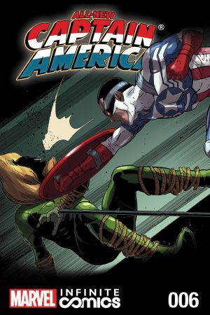 All-New Captain America: Fear Him Infinite Comic #6