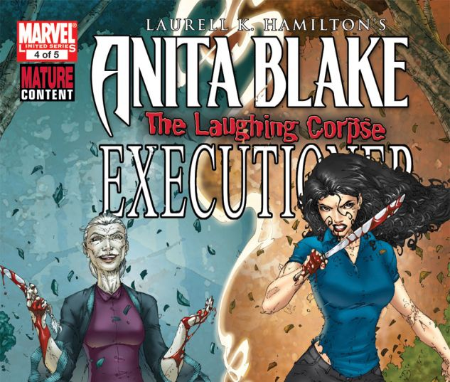 ANITA BLAKE: THE LAUGHING CORPSE - EXECUTIONER (2009) #5 Cover