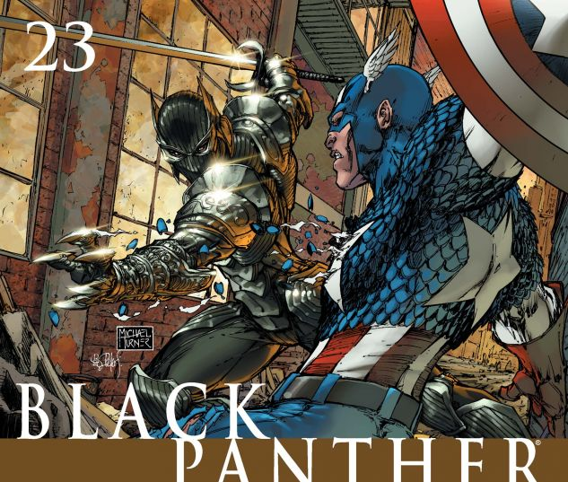 BLACK PANTHER (2005) #23 Cover