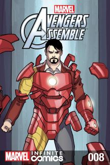 Marvel Universe Avengers Infinite Comic #8