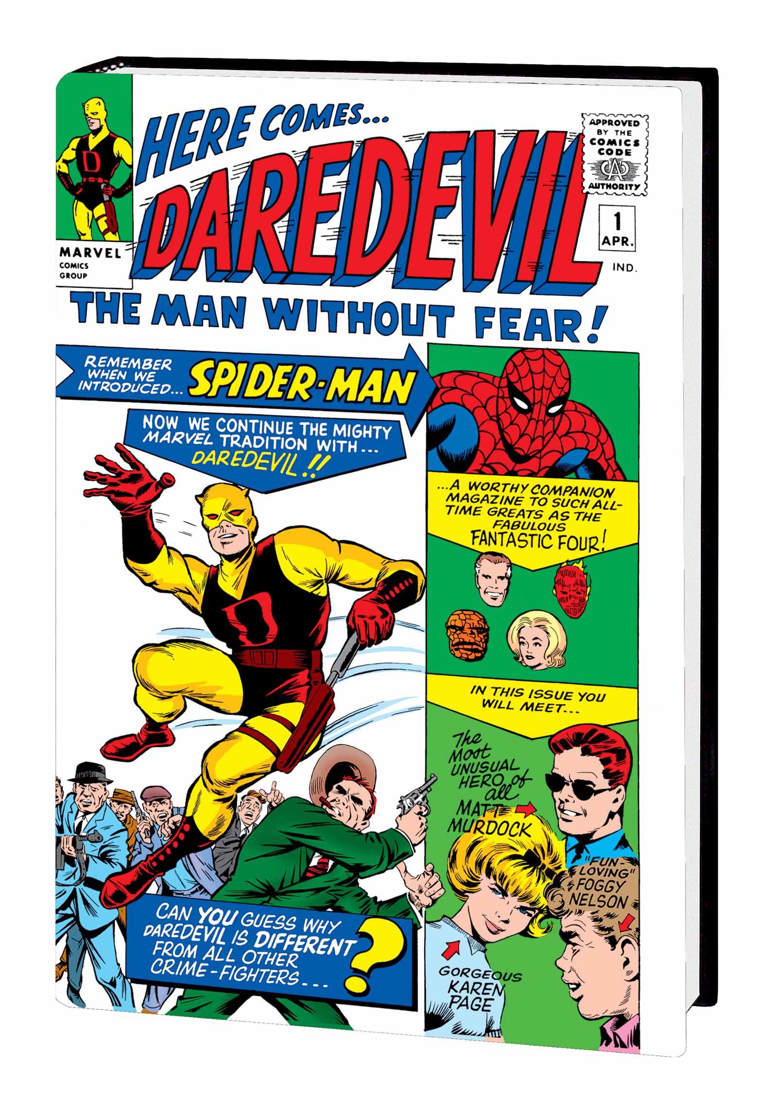 Daredevil Omnibus Vol. 1 Kirby Cover (Hardcover)