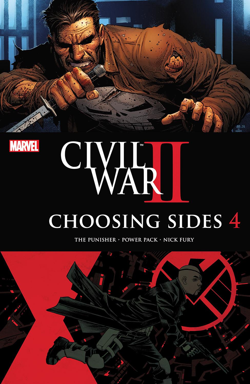Civil War II: Choosing Sides (2016) #4