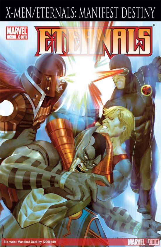 Eternals: Manifest Destiny (2008) #9