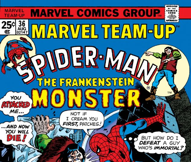MARVEL TEAM-UP (1972) #36