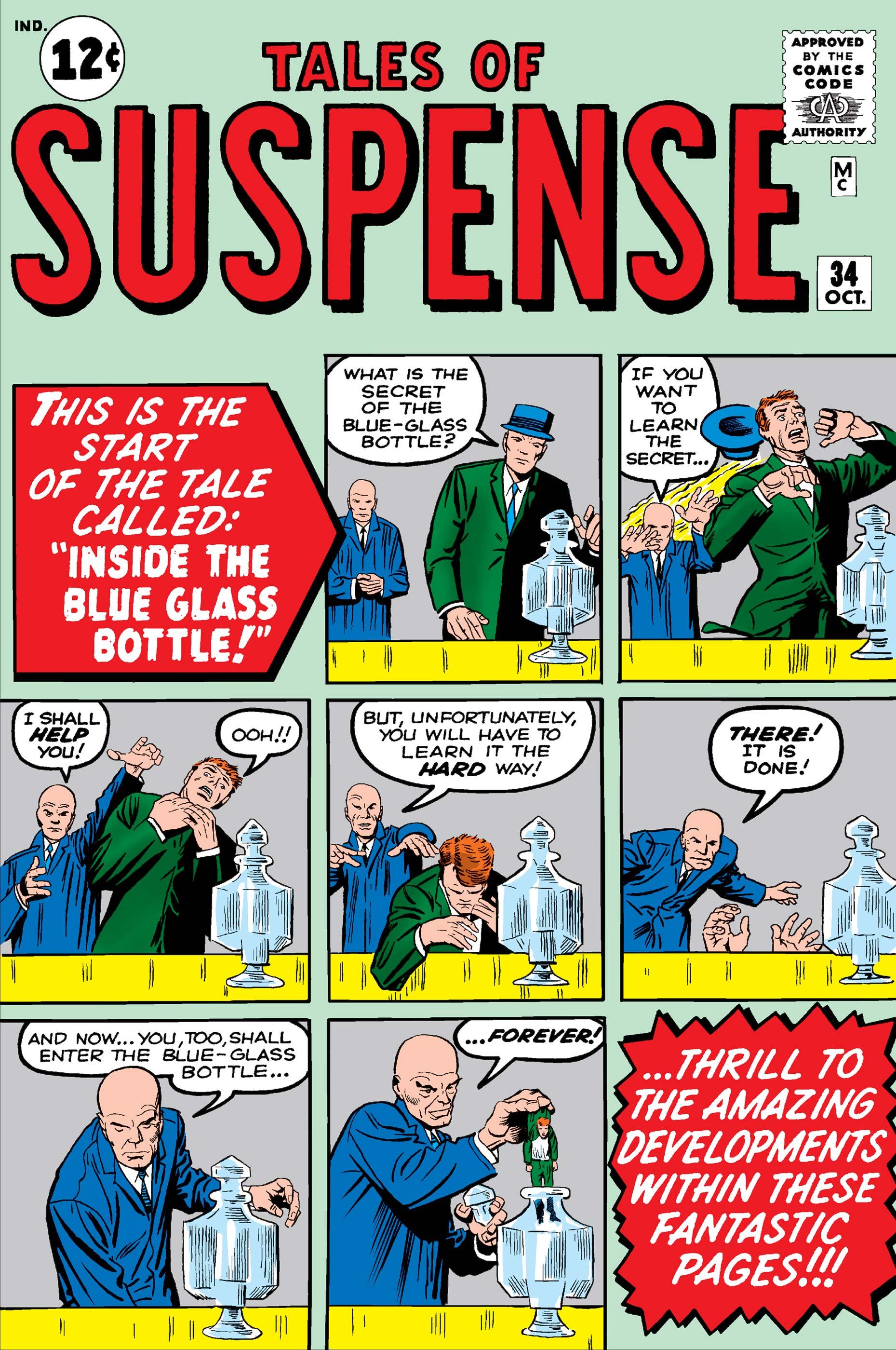 Tales of Suspense (1959) #34