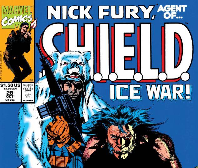 Nick Fury, Agent of Shield (1989) #28