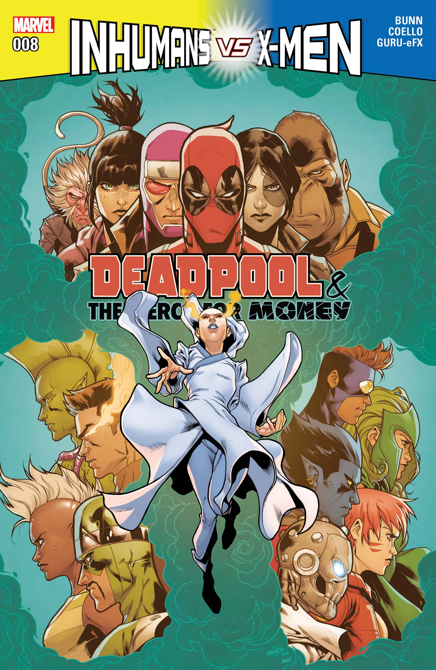 Deadpool & the Mercs for Money (2016) #8