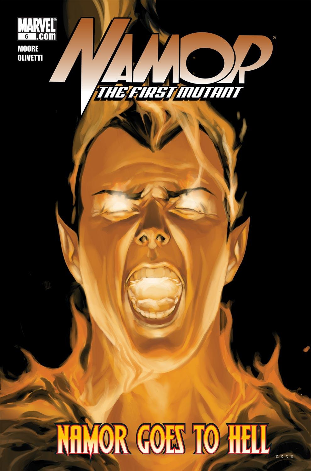 Namor: The First Mutant (2010) #6