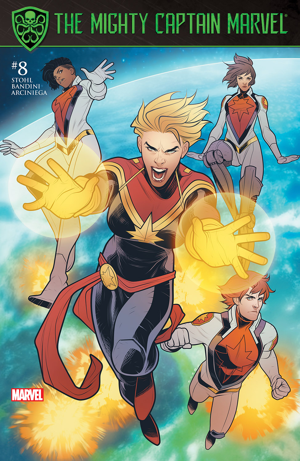 The Mighty Captain Marvel (2017) #8