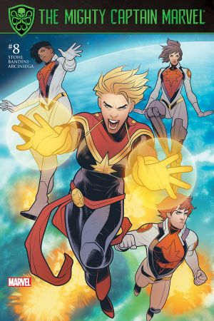 The Mighty Captain Marvel #8