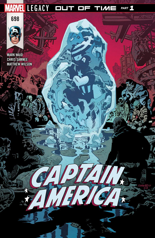 Captain America (2017) #698