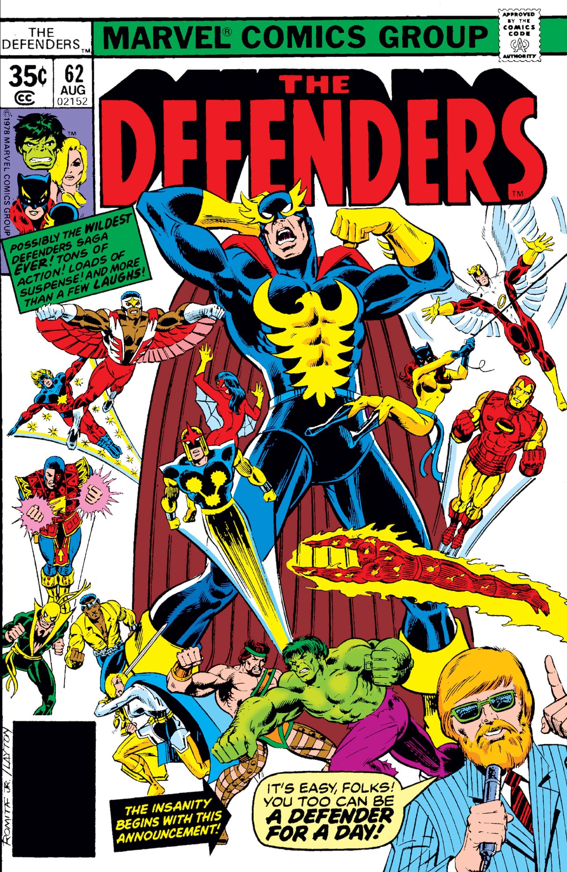 Defenders (1972) #62