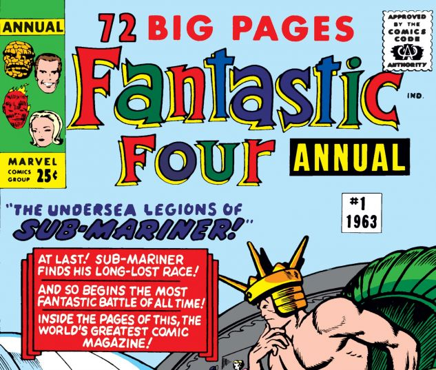 Fantastic Four Annual (1963) #1