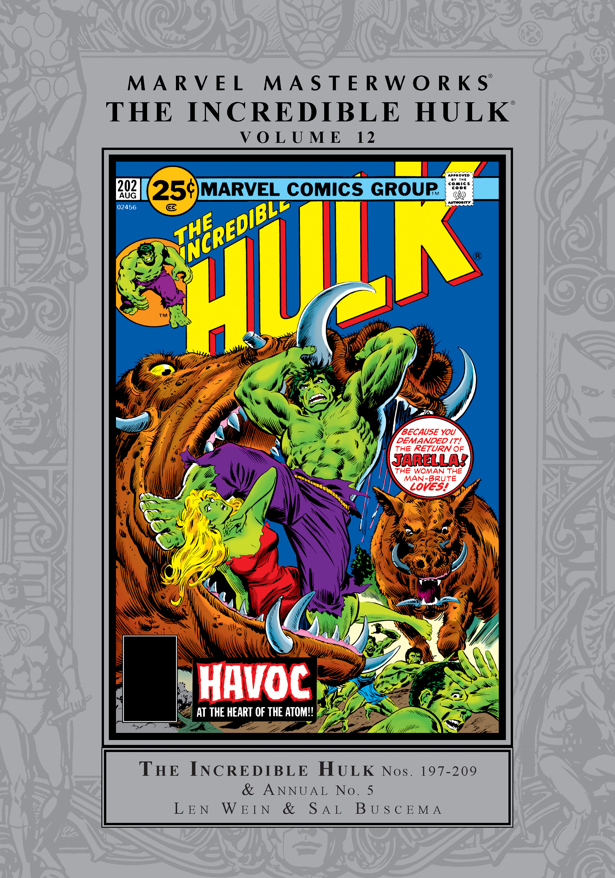 Marvel Masterworks: The Incredible Hulk Vol. 12 (Hardcover)