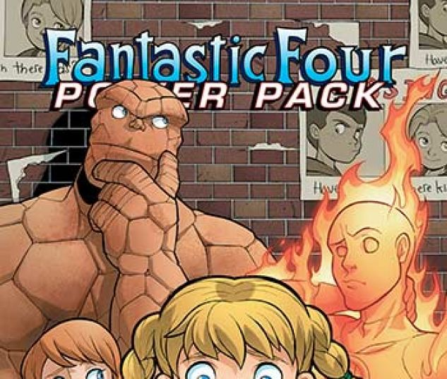 cover from Fantastic Four and Power Pack Infinite Comic (2018) #4