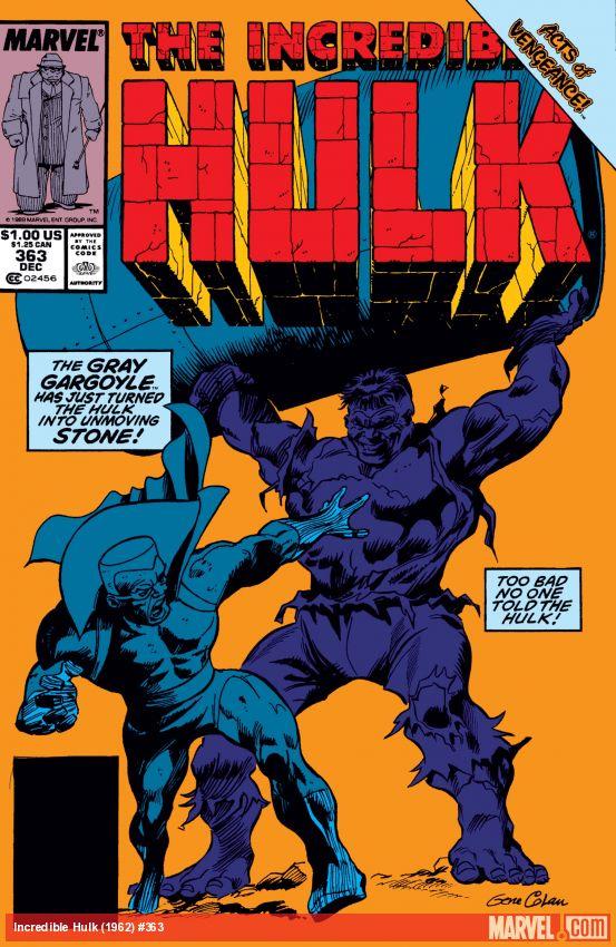 Incredible Hulk (1962) #363