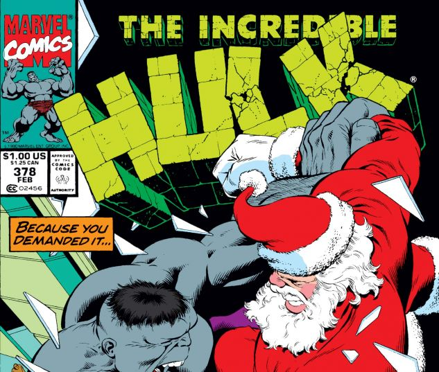 Incredible Hulk (1962) #378