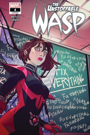 The Unstoppable Wasp #4