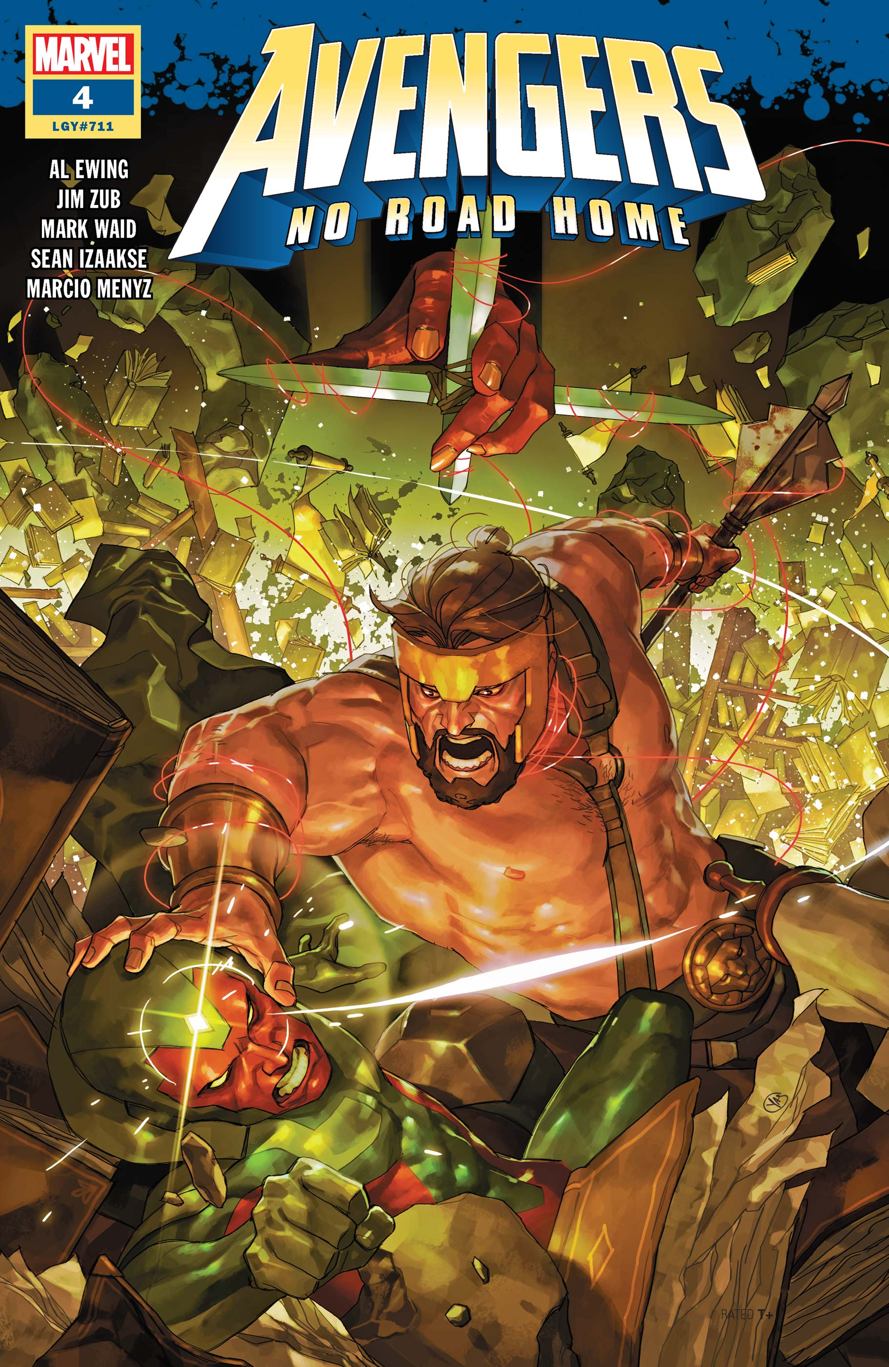 Avengers No Road Home (2019) #4