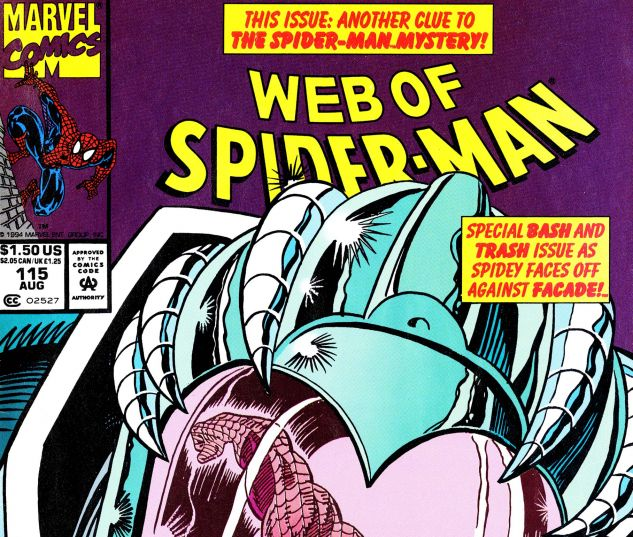 Web of Spider-Man (1985) #115