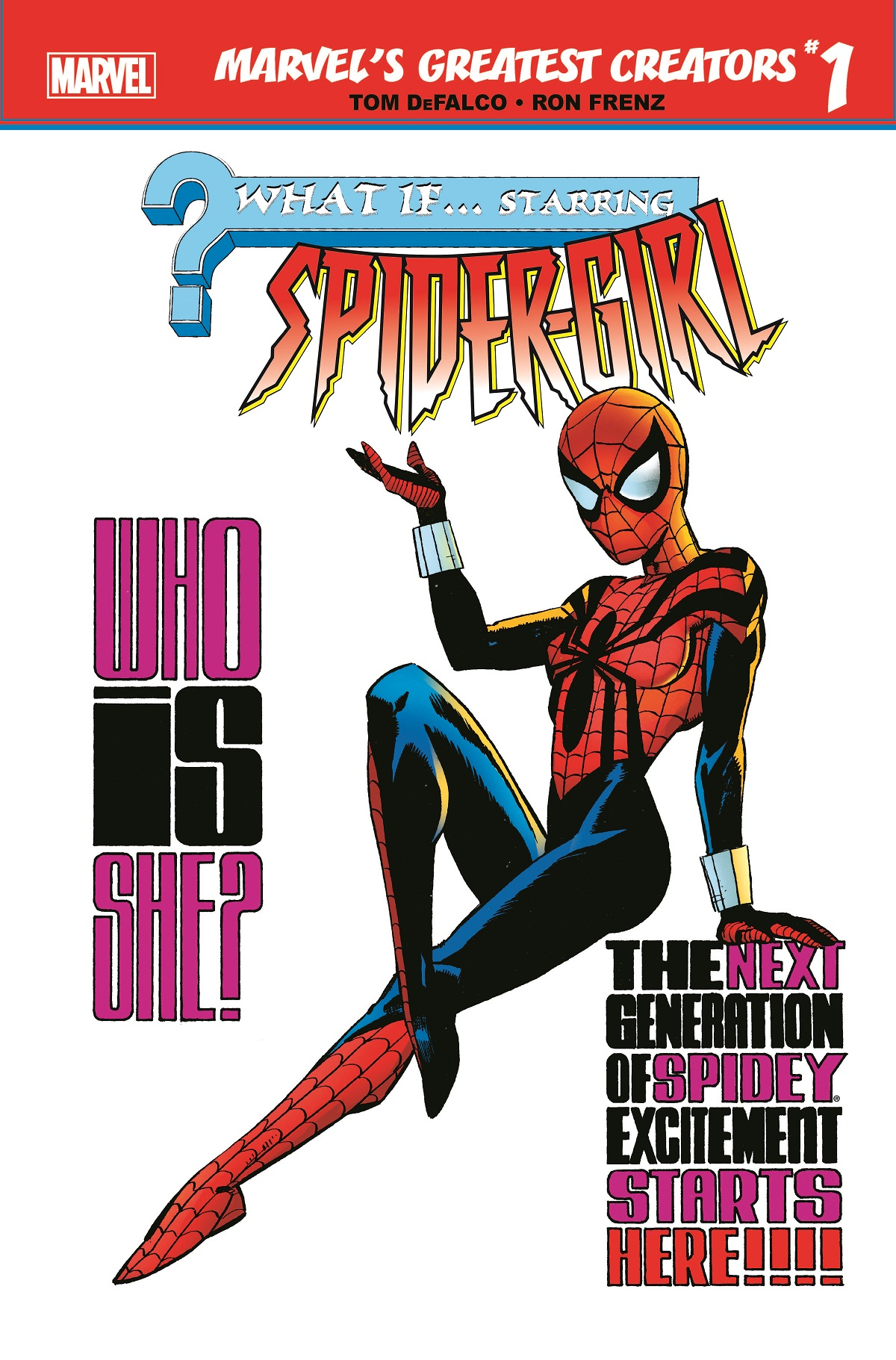 Marvel's Greatest Creators: What If? - Spider-Girl (2019) #1