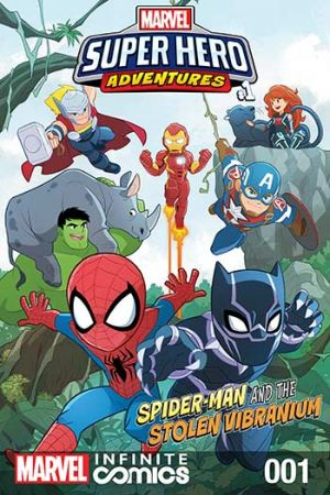 Marvel Super Hero Adventures: Spider-Man and the Stolen Vibranium (2019) #1