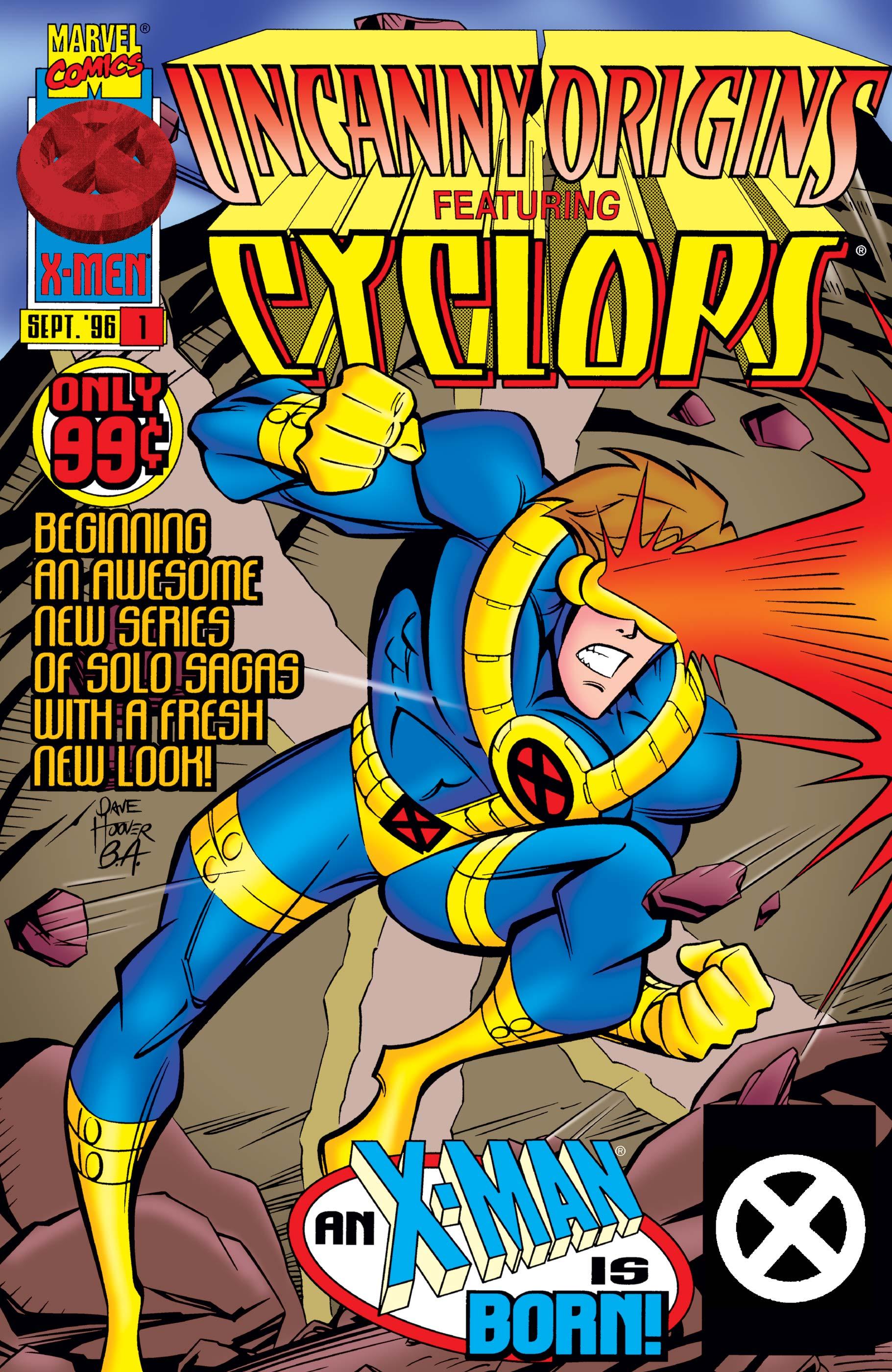 Uncanny Origins (1996) #1